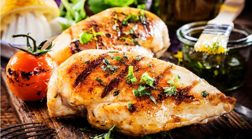 Как правильно приготовить куриные грудки на гриле